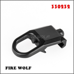 330232 FIRE WOLF Sling Mount Plate Adaptor Attachment fits 20mm Picatinny Rail Adapter Black