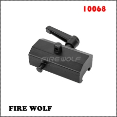 10068FIRE WOLF Tactical QD Quick Detach Rotating bipod adapter for sling swivels studs for Harris Bipods with Ratchet Lever